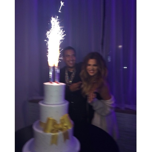 khloe kardashian celebrates her birthday