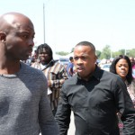 Yo Gotti Attends Michael Brown's Funeral In St. Louis