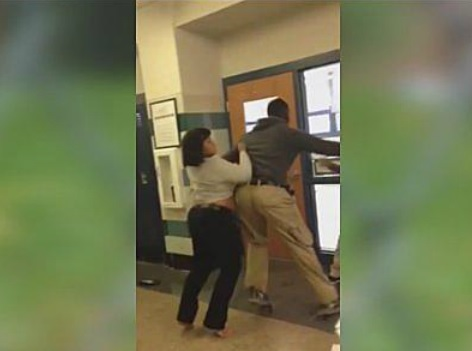 TEACHER FIGHT STUDENT