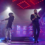 "Usher, Trey Songz & August Alsina Performs ""I Luv It"" In Chicago."