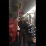 Video: Young Woman gets Fire slapped Out Of Her on NY Subway F Train.