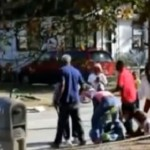 Chaos With The Neighbors Her Family From A Street Fight In South Carolina!