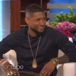Video: Usher on the Ellen Show.