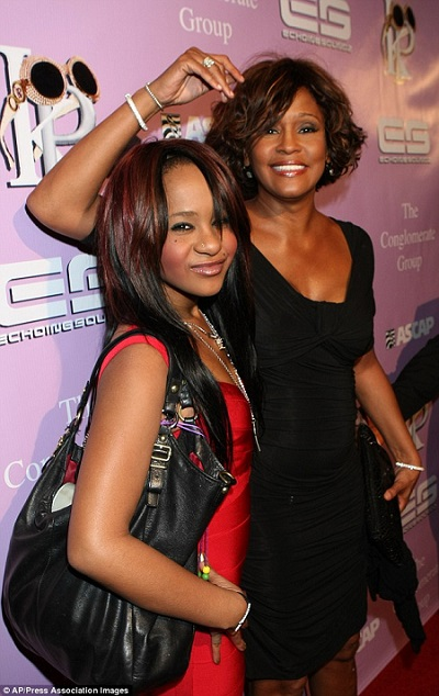 Family Say Goodbye To Bobby Kristina Brown.