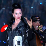 Katy Perry, Missy Elliott & Lenny Kravitz Super Bowl Halftime Show Performance.