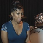 "Michel'le says Dr. Dre almost shot Her ""Bullet Missed By Inches""."