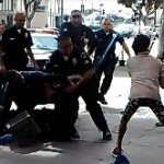 SMH: Los Angeles Police shoots a homeless man during struggle