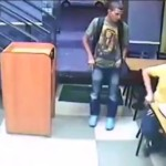 Video: Man Continues Eating Subway Sandwich During Armed Robbery