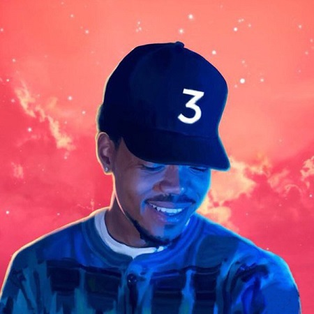 Chance The Rapper Coloring Book.