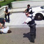 Video: Man shot by Secret Service holding gun at White House.