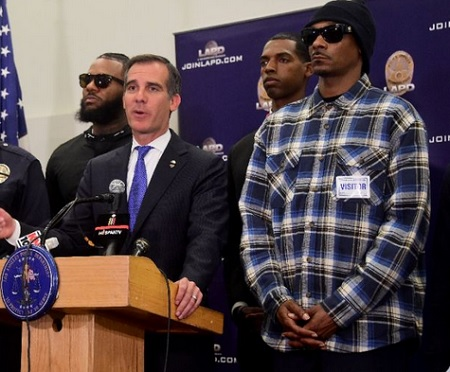 Full Video of Snoop Dogg & The Game LAPD Press Conference