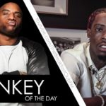 "Charlamagne Gives Rich Homie Quan Donkey of the day (Forgets Biggie Lyrics on Stage)""."