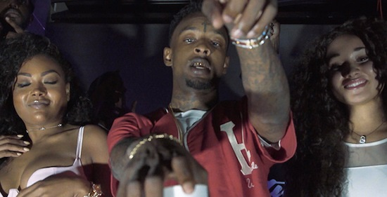 Video Dj Scream Lit Ft. 21 Savage, Juicy J & Young Dolph