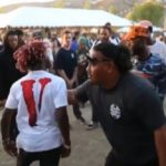 Lil Uzi Vert About To Fight When He Ran Into Rapper Who Dissed Him.