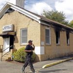 Black Church Set On Fire And Tagged With 'Vote Trump' Graffiti.