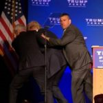 Donald Trump Rushed Off Stage After Protester Shouts Out  Gun.