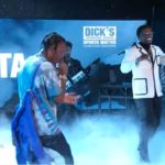 "Gucci Mane & Travis Scott Performs ""Last Time"" on The Late Night Show."