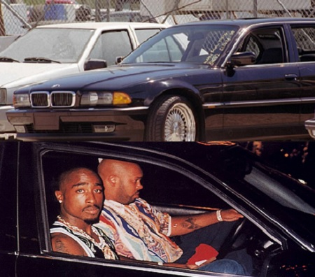 Bmw Tupac Was Killed In Being Auctioned Off For 1 5