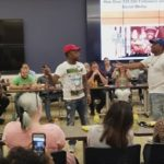 DNA & K Shine NBA Finals Rap Battle At ESPN Studios