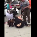 Watch: Parents Fight Outside Of California High School.