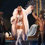 """Watch Nicki MinajPerform """"Realize,"""" """"No Frauds"""" and """"Swish Swish""""."""