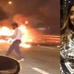 NYC Man Leaves His Wrecked Car & Gets Into A Cab While His Date Burns Alive Inside!