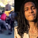 Rapper Lil B Gets Jumped By A Boogie, PNB Rock & Their Crew (Closer Video).