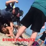 Disturbing Video Shows Cop Punching Girl In The Head On NJ Beach.