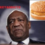 Bill Cosby Slapped In The Face With Flying Chicken Patty.